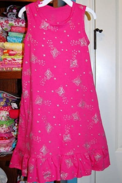 Pink Knit Play Dress