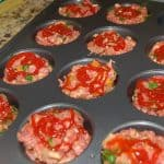Mini Meatloaf in a Muffin Tin Recipe