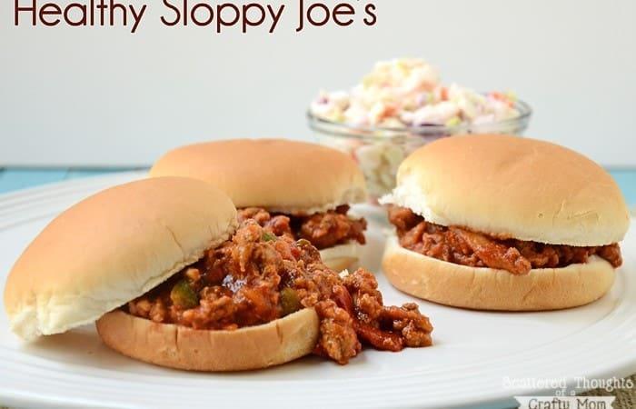 Healthy Sloppy Joe's