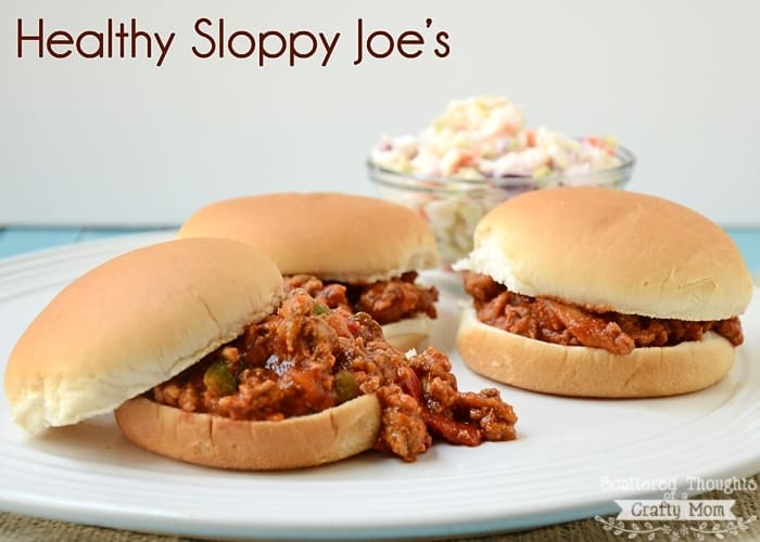 Healthy Sloppy Joe Recipe- Your family will love it!