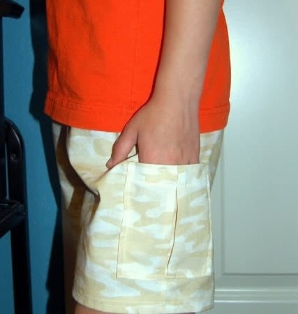 Adding Simple Cargo-style Pockets to Shorts