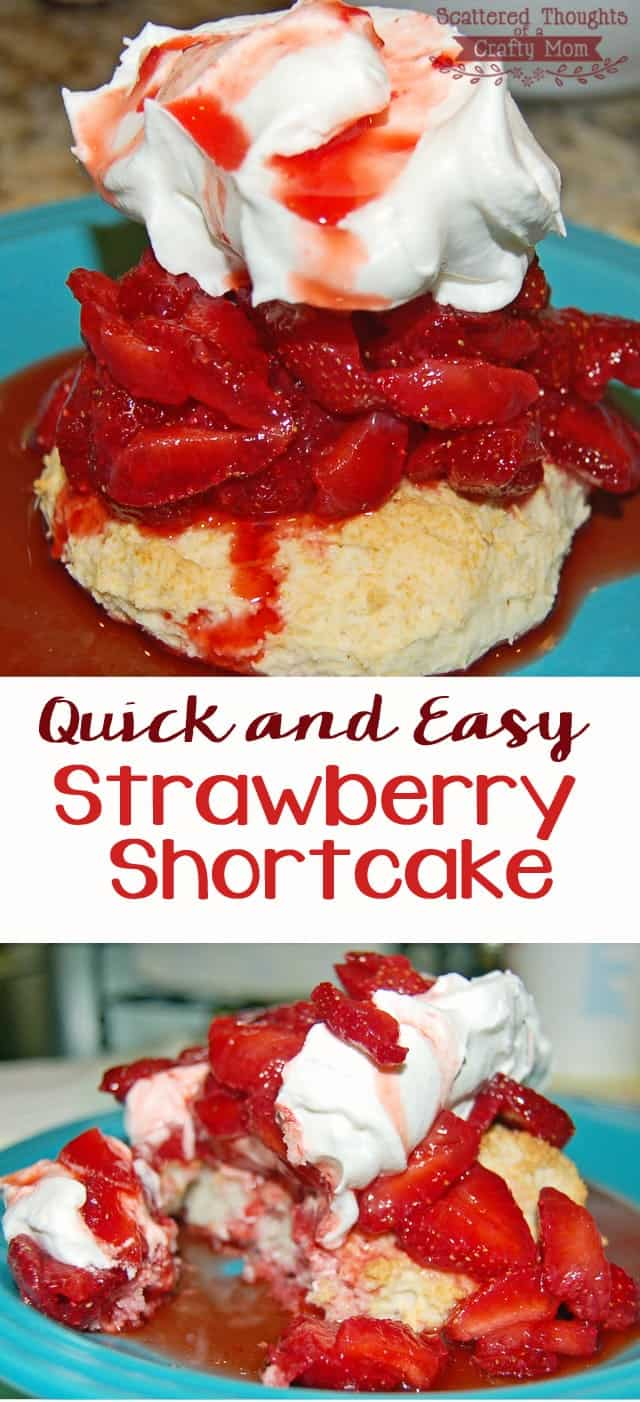Quick and Easy Strawberry Shortcake Recipe