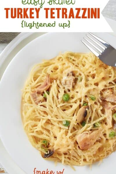 Skillet Turkey Tetrazzini (or Chicken) – Lightened up