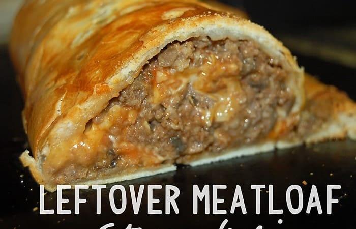 Leftover Meatloaf Stromboli