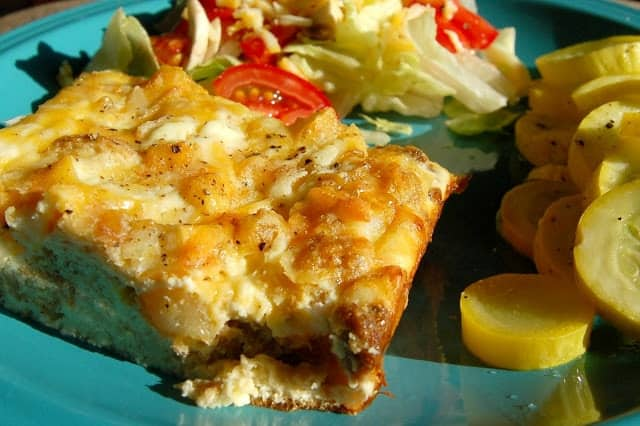 Ham, Cheese and Hash Brown Frittata - Scattered Thoughts of a Crafty ...