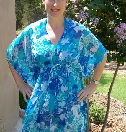 Kaftan-Style Beach Cover-Up