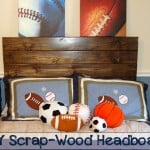 Scrap Wood Headboard
