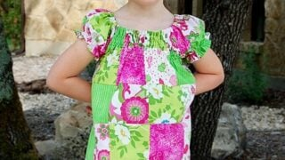Patchwork Tunic Top