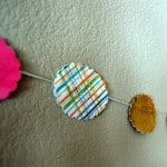 Kid Craft:  Paper Garland