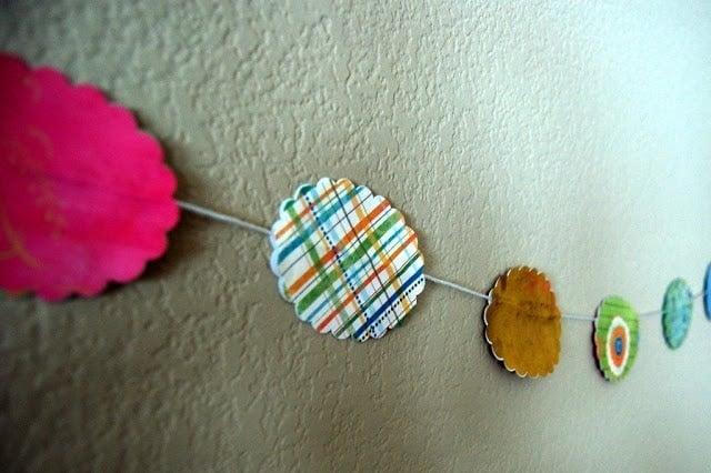 Kid Craft:  Paper Garland