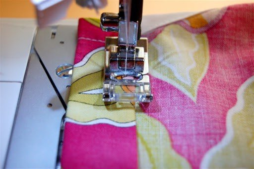 how to sew a tiered pillow case dress