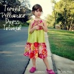 How to Sew a Tiered Pillowcase-Style Dress
