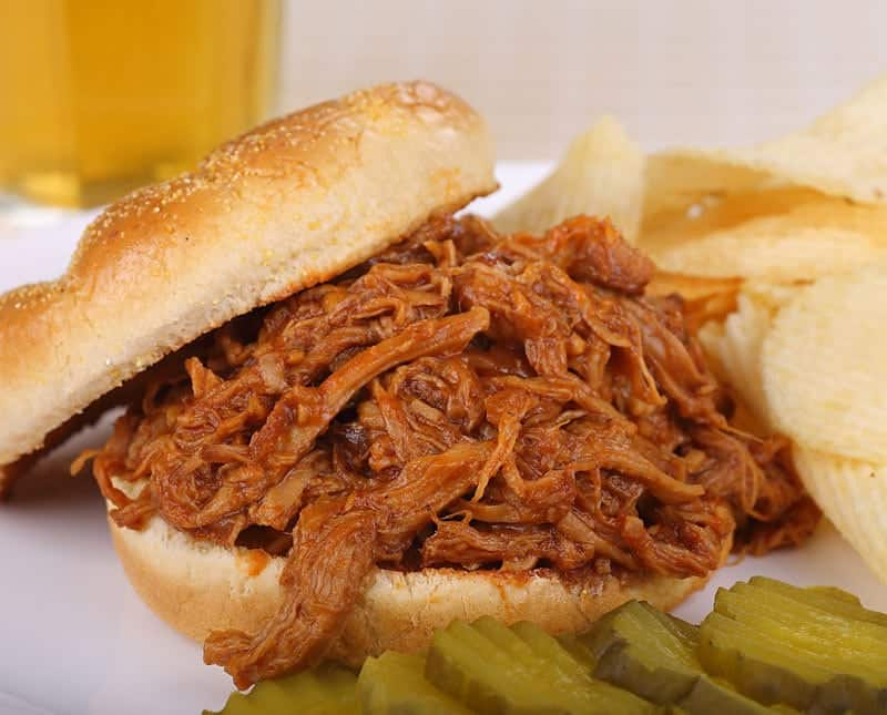 Dr Pepper Barbeque pulled pork.