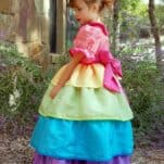 DIY Rainbow Princess Dress