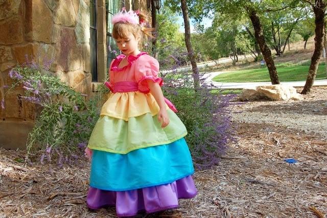 Rainbow Princess Dress