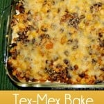 Easy Tex-Mex Bake – Lightened Up