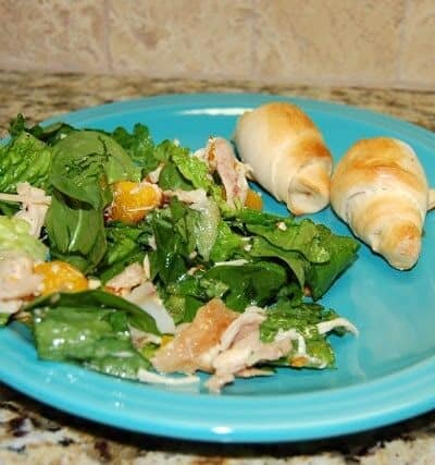 Orange Sesame Chicken Salad