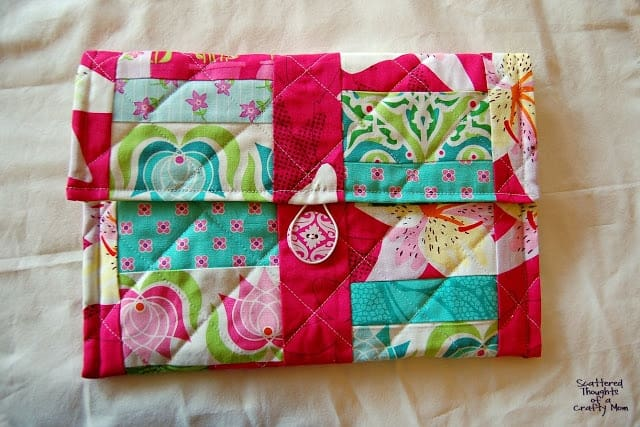 how to sew a cover for an ipad or kindle fire