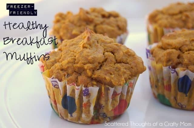 healthy breakfast muffin recipes