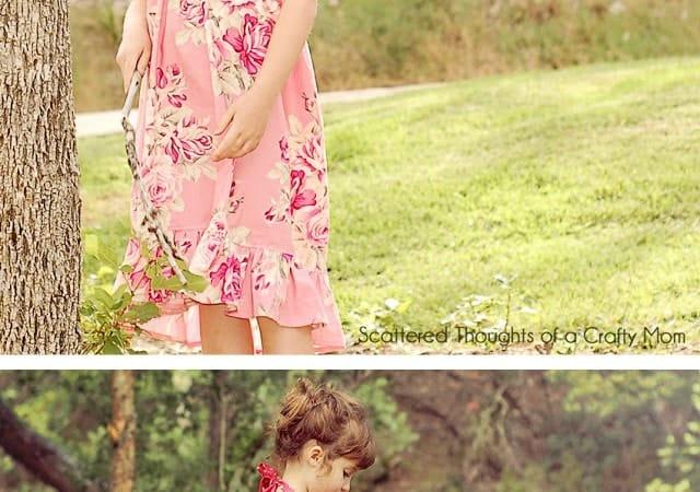 Simple Halter Dress Tutorial