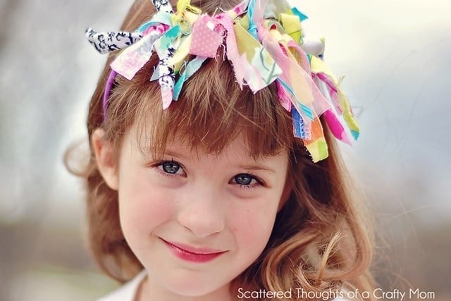 Kid Craft:  Scrap Busting Headband