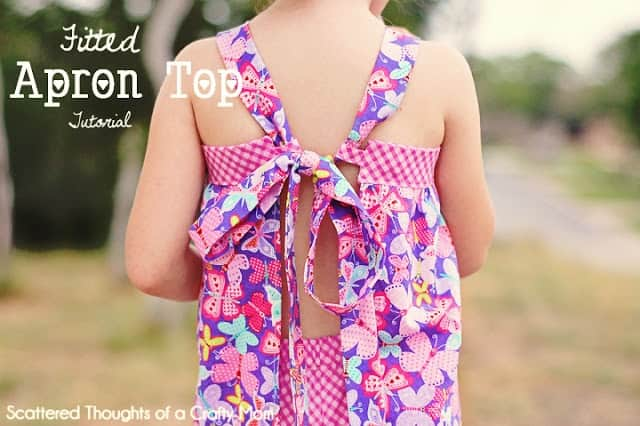 How to sew a summer top, tutorial includes a free pattern