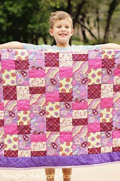 Teacher Appreciation Gift:  Picnic Quilt