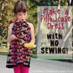 How to make a Pillowcase Dress without Sewing