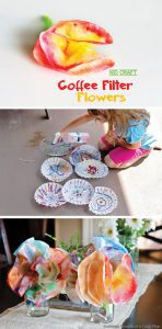 Kid Craft: Coffee Filter Flowers