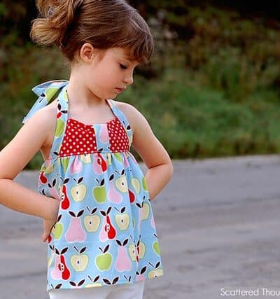 Peek-a-Boo Pattern Shop Summer Tour: Sweetheart Halter