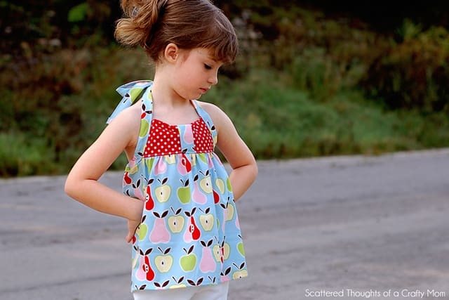 Peek-a-Boo Pattern Shop Summer Tour: Sweetheart Halter