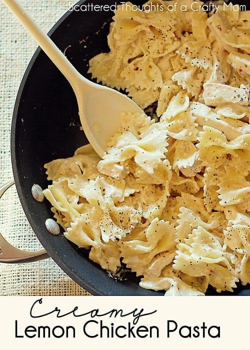Creamy Lemon Chicken Pasta