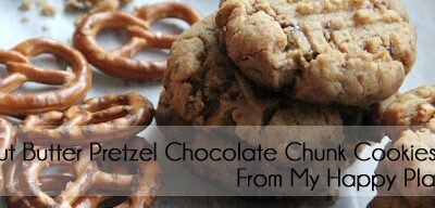 Guest Post: Peanut Butter Pretzel Chocolate Chunk Cookies
