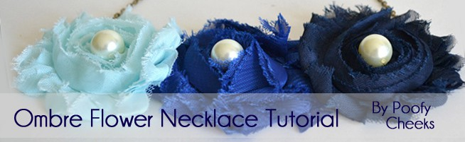 Guest Post: Ombre Flower Necklace Tutorial
