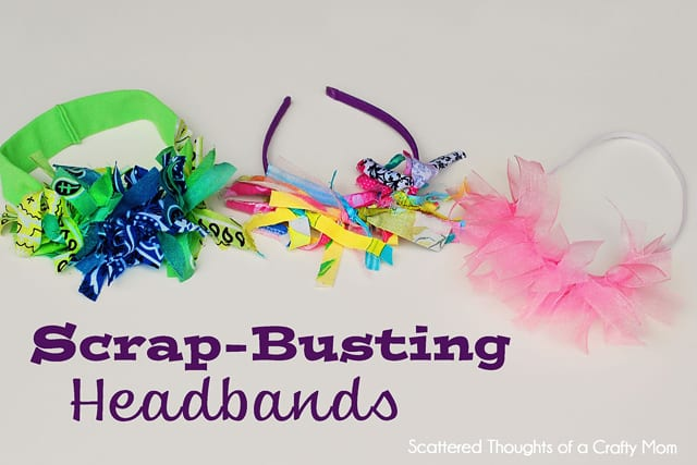 Kid Craft: Scrap-busting Headband