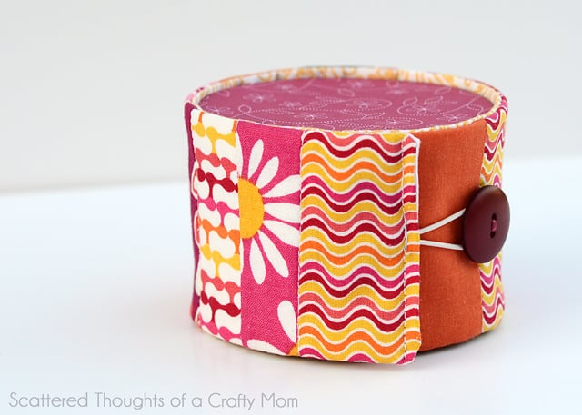 Quilted Goodie Tin