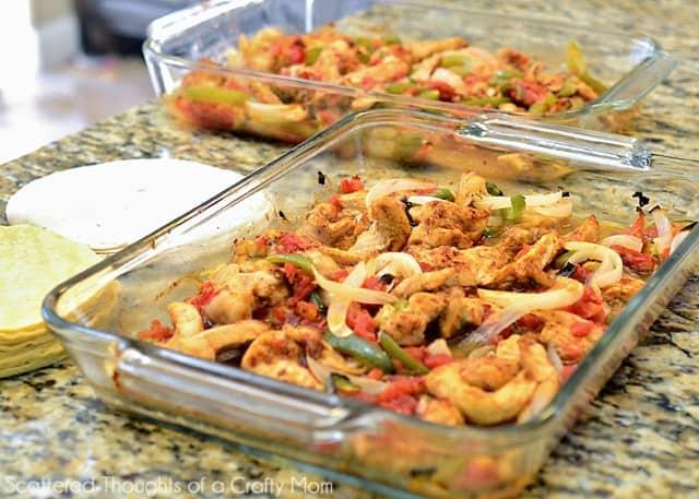 Oven Baked Fajita Recipe