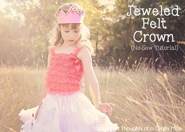 How to make a no-sew felt crown.