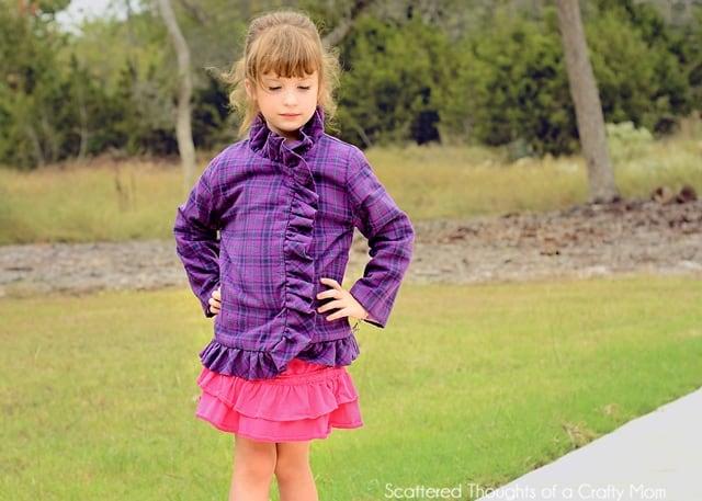 Hailey Ruffled Up Jacket