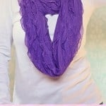 Ruffled Infinity Scarf Tutorial