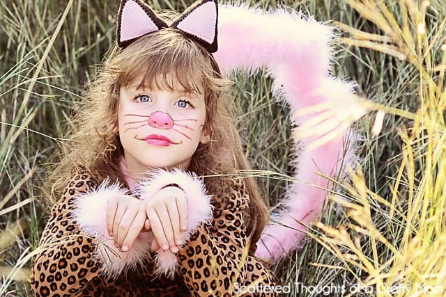 MEOW! Easy DIY Kitty Cat Costume - Scattered Thoughts of a ...