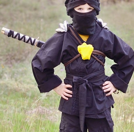 Ninjago Ninja Costume for Halloween