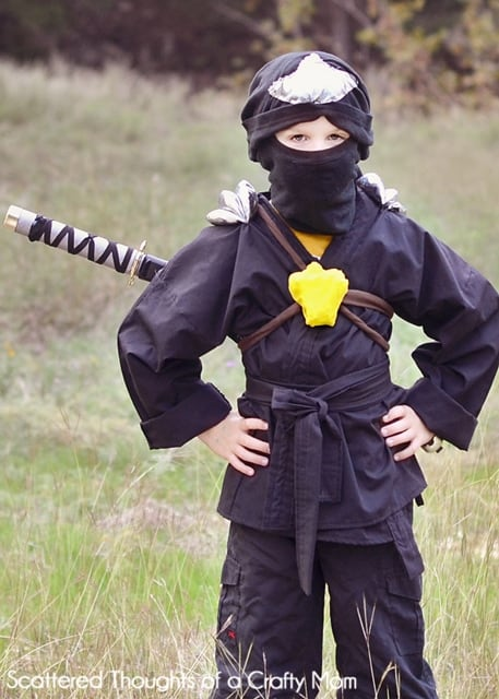 The trick was to get him to settle on which one. He went from White (Zane) to Green (Lloyd) to finally settling on the Black Ninja (Cole). & Ninjago Ninja Costume for Halloween - Scattered Thoughts of a Crafty ...