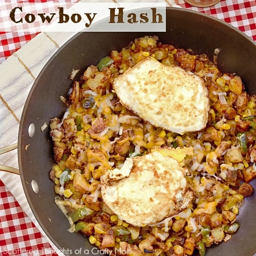 Cowboy Hash aka Breakfast for Dinner