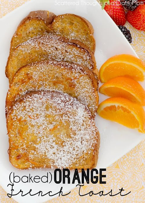 Baked Orange French Toast Recipe ( Baked french toast recipe)