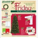 Sneak Peak at Black Friday ad for Jo-Ann Fabric and Craft Stores