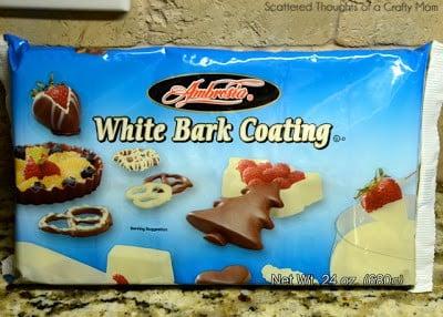 how to make white chocolate holiday bark