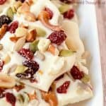 white chocolate holiday bark recipe