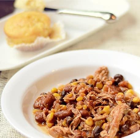 Southwest Chicken Chili – Crock Pot Style