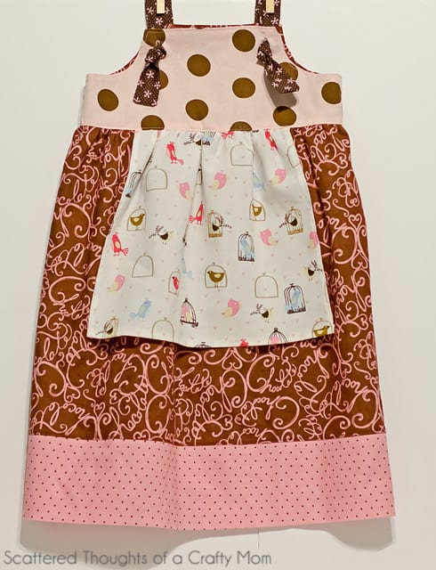 Knot dress tutorial with free pattern